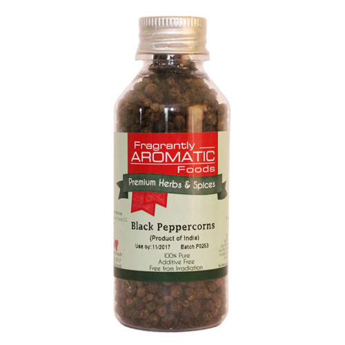 Black Peppercorns 58g