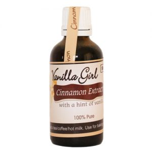 Cinnamon & Vanilla Extract 50ml